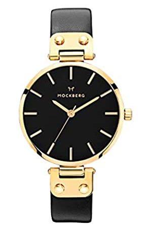 Mockberg Damen Uhren - DamenAnalogQuarzSmartWatchArmbanduhrmitLederArmbandMO113