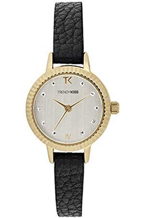 Trendy Kiss Damen Analog Quarz Uhr mit Leder Armband TG10135-03