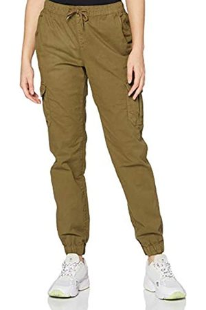Urban classics Damen Ladies High Waist Cargo Jogging Pants Hose