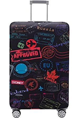 TRAVEL KIN Travelkin Kofferabdeckung, waschbar, kratzfest, passend für 45,7-81
