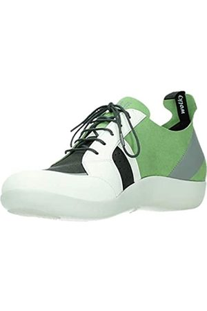 Wolky Damen Schuhe - Comfort Sneakers Base - 00752 lemone/hellgrau Kunststoff - 42