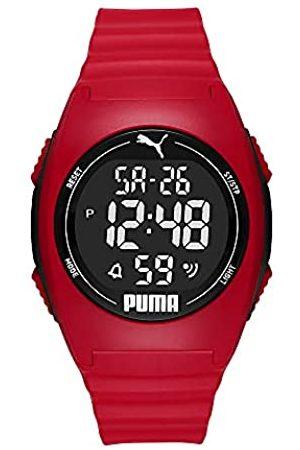 PUMA Unisex 4 LCD, Plastic Uhr