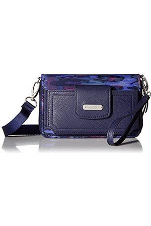 Baggallini Damen Taschen - Damen-Geldbörse mit RFID-Motiv, Blau (Moonlight Camo)