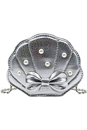Eilova Orityle Elegante Muscheltasche für kleine Mädchen, Umhängetasche, Geldbörse, Kette, Schultertaschen