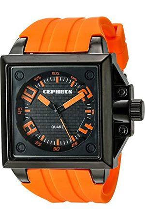 CEPHEUS Herren-Armbanduhr Analog Quarz Silikon CP904-629A