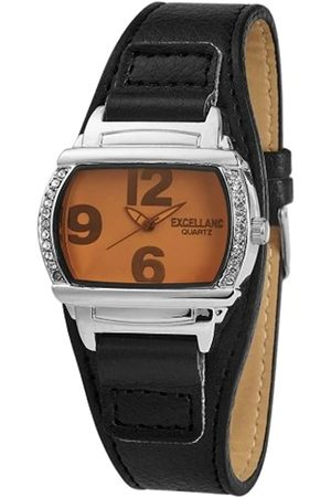 Excellanc Damen-Uhren mit Polyurethan Lederband 195077000089