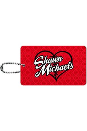 Graphics and More WWE Shawn Michaels HBK Gepäckkarte Koffer Handgepäck ID-Tag