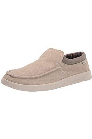 Sanük Herren Hi Bro Lite Hemp Loafer, (Natur)