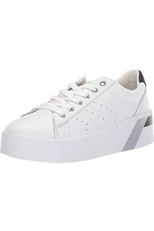 MARC FISHER Damen Sneakers - Damen Tony, Weiá (White Leather)
