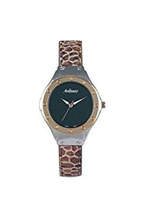 Arabians Damen Uhren - DamenAnalogQuarzUhrmitLederArmbandDPA2167C