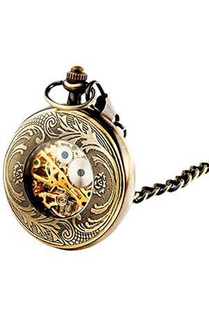 Sparks of Time Herren Uhren - SparksofTimeUnisexErwachsene-TaschenuhrAnalogMechanik155