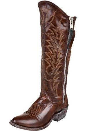 Old Gringo Damen L340-7 Razz Stiefel mit Reißverschluss, (Brush Tan)