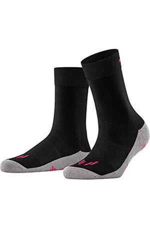 Burlington Socken Running angenehme Materialien Größe 36-41 Damen blau viele weitere Farben verstärkte Sportsocken ohne Muster gepolstert lang mit Frotteesohle zum Laufen 1 Paar