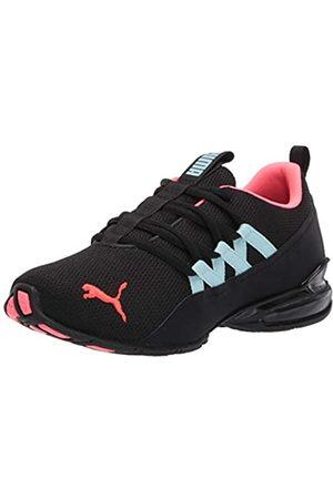 PUMA Damen Schuhe - Womens Riaze Prowl Running Shoe, Black-Ignite Pink-Aquamarine