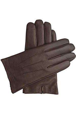 Downholme – Touchscreen-Lederhandschuhe mit Innenfutter aus Kaschmir – für Herren (