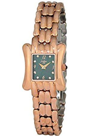 JUSTINA Damen Uhren - Analog Quarz Uhr mit Edelstahl Armband JAR11