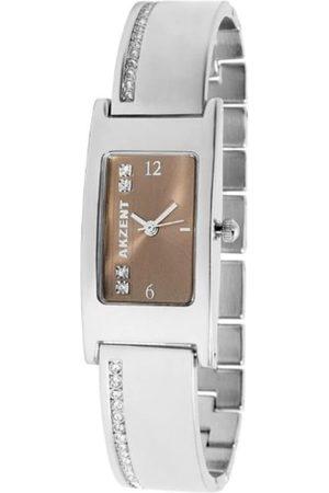 Akzent Damen-Uhren mit Metallband 185127000002