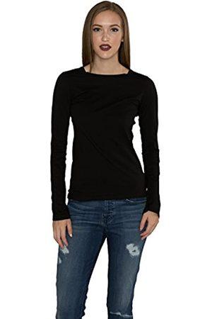 Graham & Spencer Damen-T-Shirt mit Langen Ärmeln von Gauzy Whisper Classics - - Groß