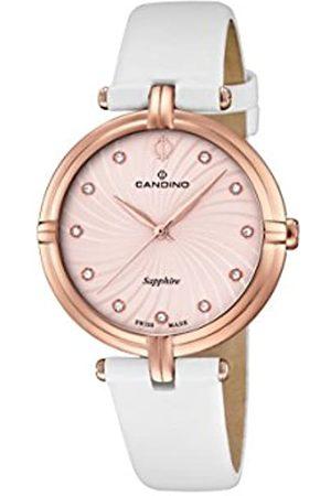 Candino Damen Uhren - Damen Analog Quarz Uhr mit Leder Armband C4600/1