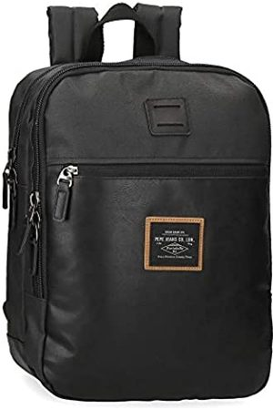 Pepe Jeans Pathway Laptop-Rucksack 27x36x12 cms Baumwolle und PU 13