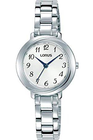 Lorus KlassikDamen-UhrmitPalladiumauflageundMetallbandRG285PX9