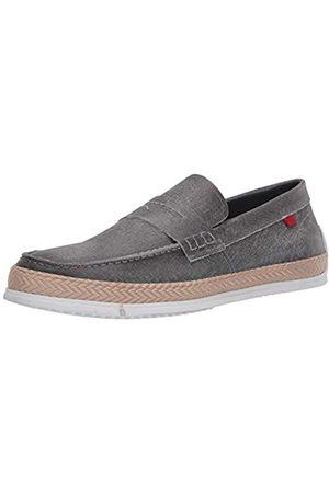 Marc Joseph New York Herren Leder-Schuhe mit Penny-Seil Detail Boot, (Jeans )