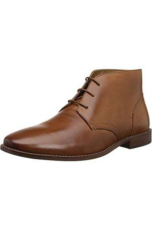 Florsheim Men's Montinaro Plain Toe Dress Casual Chukka Boot, Saddle Tan
