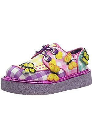 Irregular Choice Damen Butterfly Bounce Oxford-Schuh, /Purpur