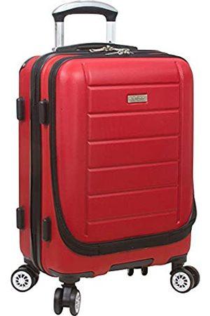 Dejuno Compact Hardside Handgepäck mit Laptoptasche, 50