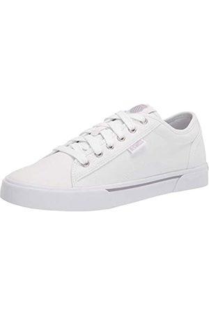 K-Swiss Damen Port Sneaker, White/Gull Gray