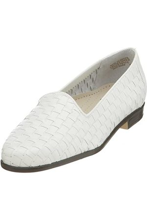 FrenchTrotters Frauen Leder Loafers Weiss Groesse 10 US /41.5 EU