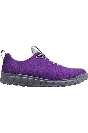 Ganter Damen Schuhe - EVO Damen-H Sneaker, Viola, antrazit