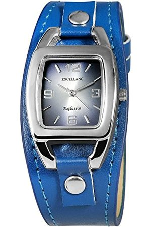 Excellanc Damen Analog Quarz Uhr mit Verschiedene Materialien Armband 193023200004