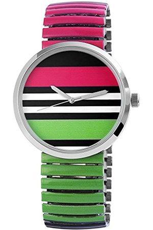 Excellanc Damen Analog Quarz Uhr mit Alloy Armband 170628000003