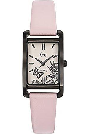 GO Girl Only Damen Analog Quarz Uhr mit Leder Armband 699117