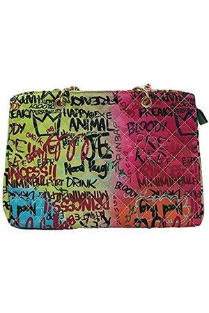 Honrui Bunte Graffiti-Clutch, Handtasche, Umhängetasche, Handtasche, bedruckt, modische Reisetaschen