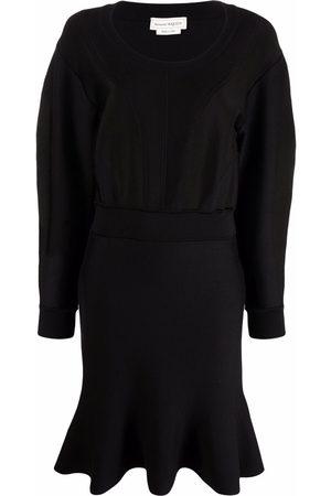 Alexander McQueen Kleid mit Schößchen