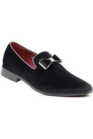 Enzo Romeo SPK03 Herren Vintage Einfarbig Samt Kleid Loafers Slip On Schuhe Klassische Smoking Kleid Schuhe, ( (07))