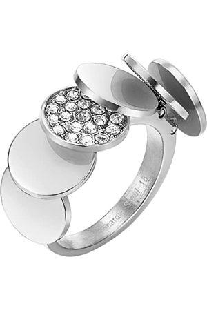 Pierre Cardin Herren-Ring 925 Sterling Silber Edelstahl rhodiniert Kristall Zirkonia Voilette Gr.57 (18.1) PCRG10006C180