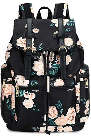 BLUBOON Schulrucksack für Mädchen, Damen, College, Büchertasche, Reiserucksack, 39,6 cm (15