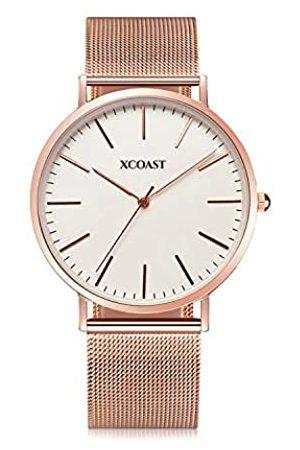 XCOAST Meridium - Stilvolle Herren Uhr Minimalistisches Design Konzept / Ultra Slim / Quarz Armbanduhr mit Edelstahlarmband
