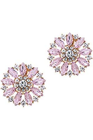 MLAVXCC Dekorative Strass-Blumen-Schuh-Clips, Mode, Hochzeit, Party, Kristall, Schuhe, Dekoration