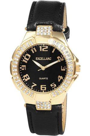 Excellanc Damen-Uhren mit Polyurethan Lederband 195201000016