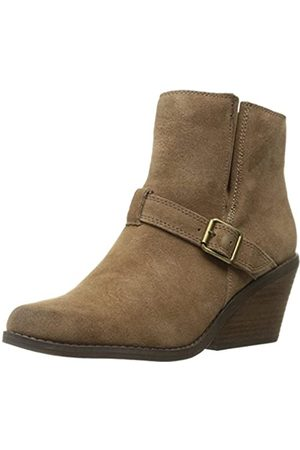 Very Volatile Women's Melina Ankle Bootie, Light Brown