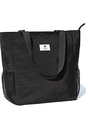 ESVAN Strandtasche Wasserbeständige große Umhängetasche Handtasche für Fitnessstudio Strand Reisetaschen für den täglichen Gebrauch