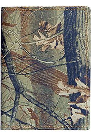 TPK Travel Gear | Passport Wallet - Leather | Passport Holder for Men or Women (Full Real Tree Hardwoods)