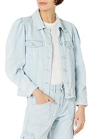 KENDALL + KYLIE Damen Denim-Jacke mit Puffärmeln