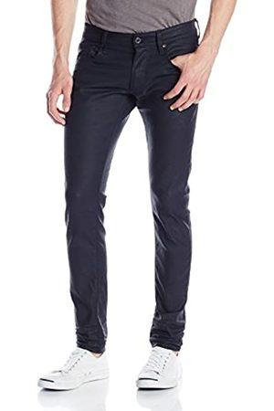 G-Star Herren Skinny Jeans 3301 Super Slim-Blue Pint Stretch Denim