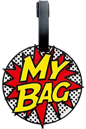 Fifth Avenue Manufacturers My Bag Comic Book 3D-Gepäckanhänger, groß