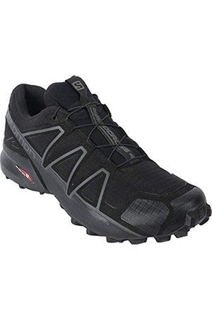 Salomon Herren Schuhe - Speedcross 4 Wide Forces Black Size 10 Wide